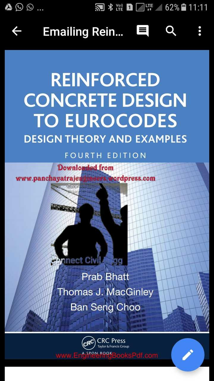 Reinforced Concrete Design Theory And Examples Pdf