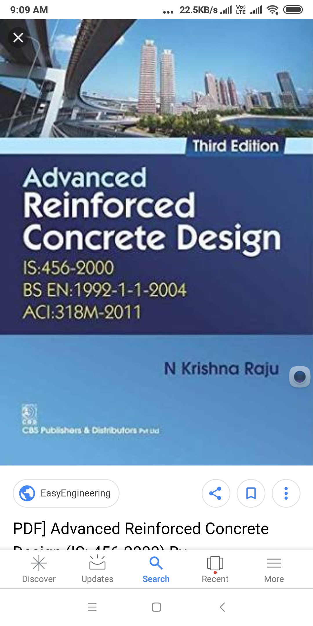 Advanced Reinforced Concrete Design By Krishna Raju Pdf