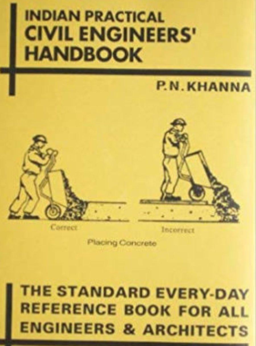 Indian Practical Civil Engineers Handbook Pdf by P N Khanna