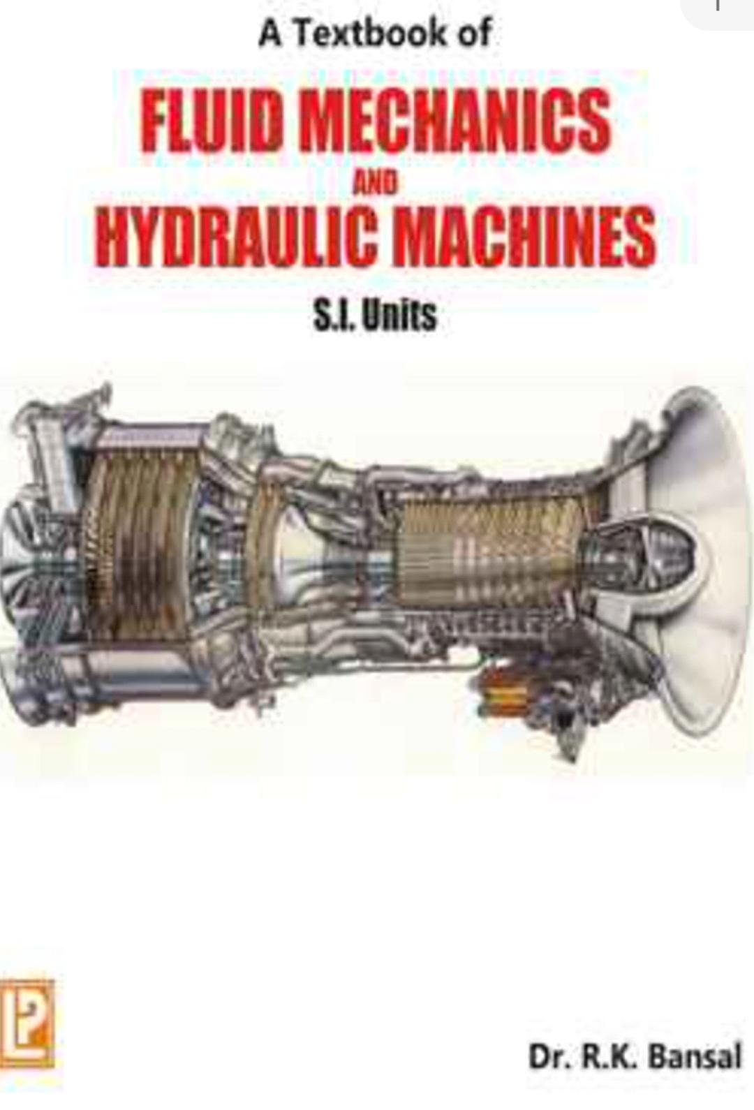 R K Bansal Fluid Mechanics and HydraulicMachines Latest Edition PDF