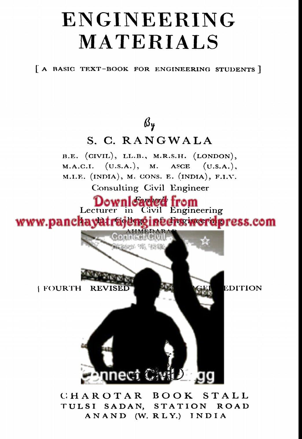 Materials rangwala pdf engineering