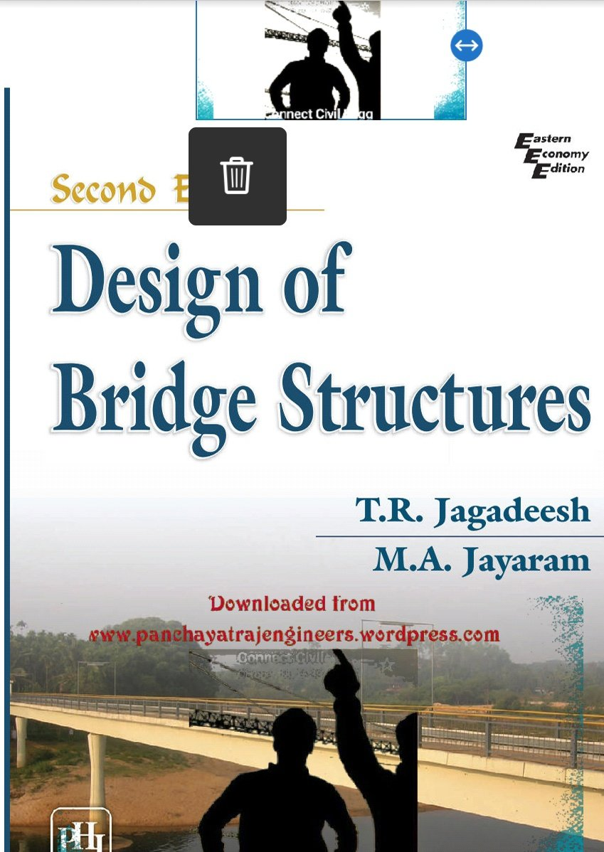 Design of Bridge Structures by T R Jagadeesh and M A Jayaram
