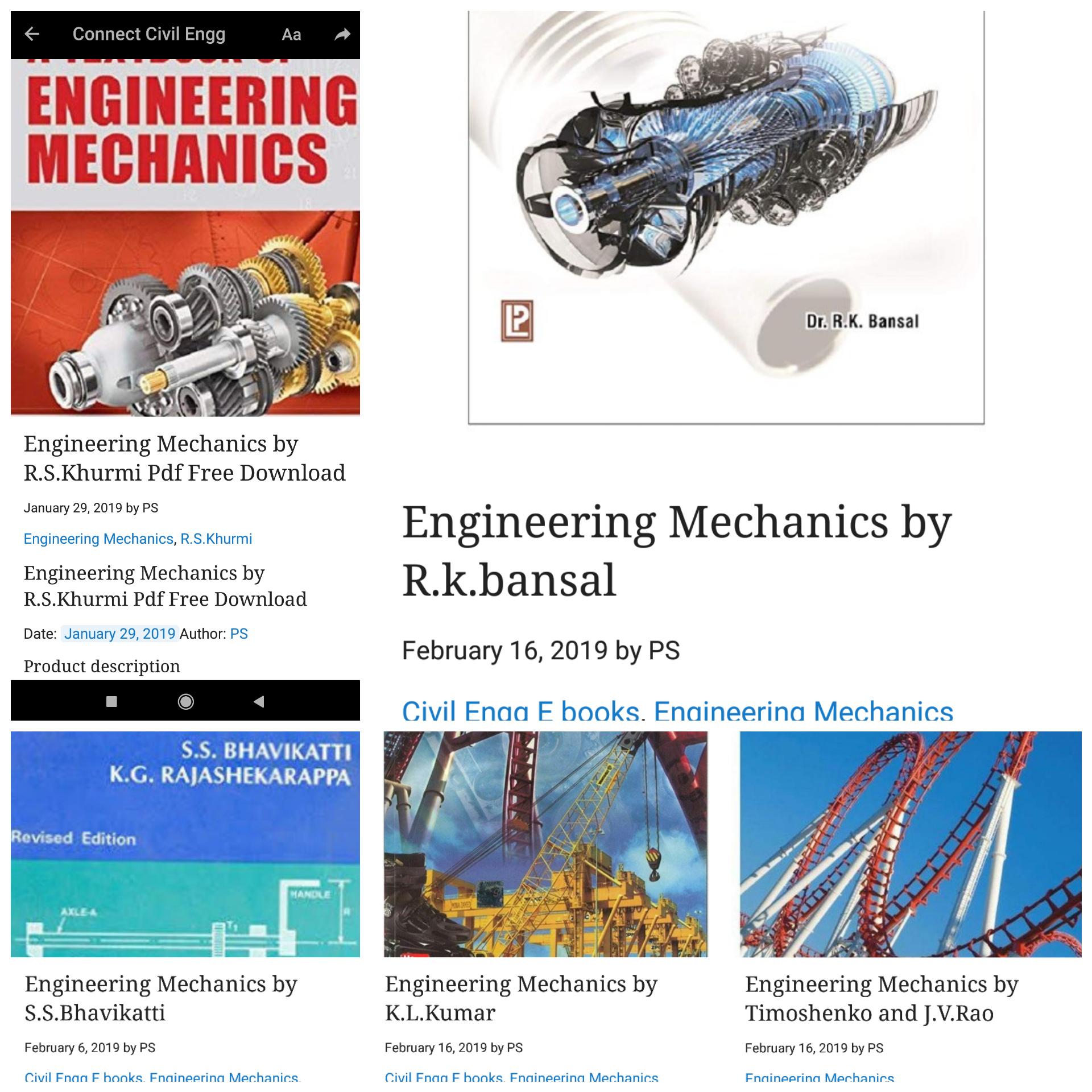 Timoshenko Engineering Mechanics Pdf